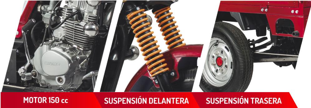 Motocarro SG 150ZH - Motos | SIGMA Motos